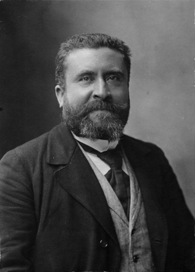 Portrait de Jean Jaures (Pertrèit deu Joan Jaurés)