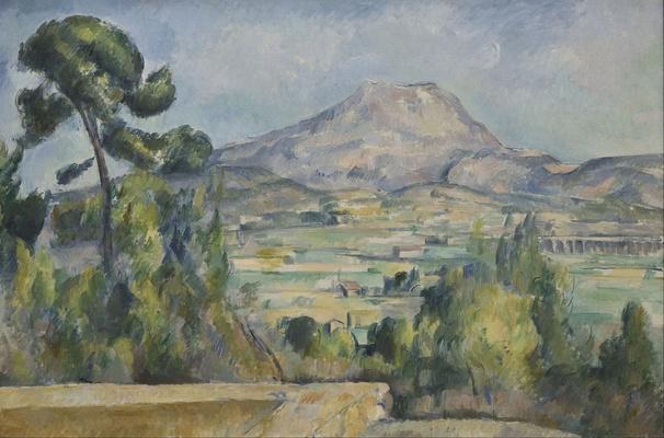 Paul Cézanne - La montagne Sainte-Victoire ( Pau Cézanne – La montagne Sainte-Victoire)
