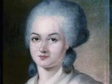 Portrait d'Olympe de Gouges (Pertrèit d'Olympe de Gouge)