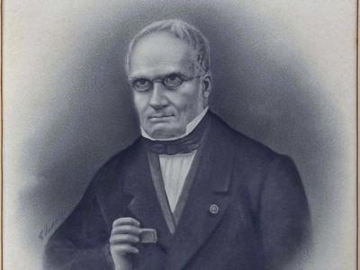 Portrait d'Edouard Lartet (Pertrèit de l'Edoart Lartet)