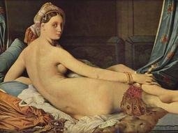 Jean-Auguste-Dominique Ingres - La Grande Odalisque (Joan-August-Domenge – La Grande Odalisque)