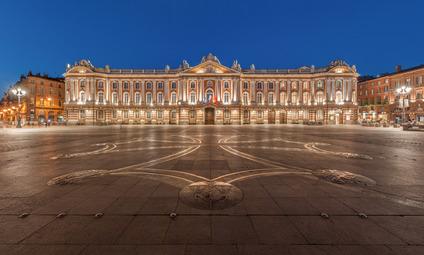 Place du Capitole à Toulouse (Plaça deu Capitòli a Tolosa)