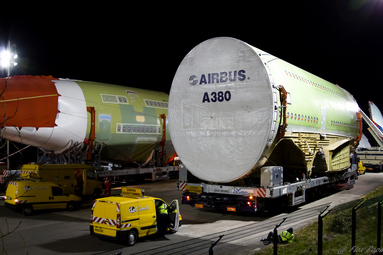 Convoi d'Airbus (Convòi de l'Airbus A380)